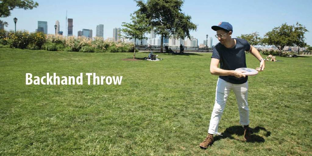 Low-Release-Backhand throw best Frisbee
