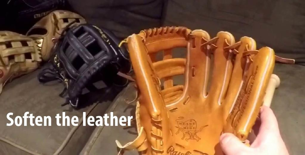 Soften the leather
