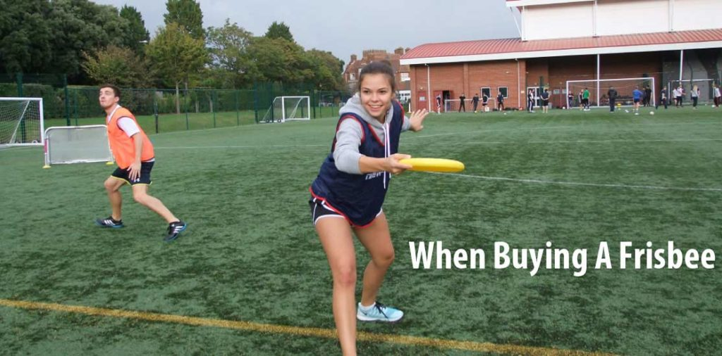Things to Consider When Buying A Frisbee