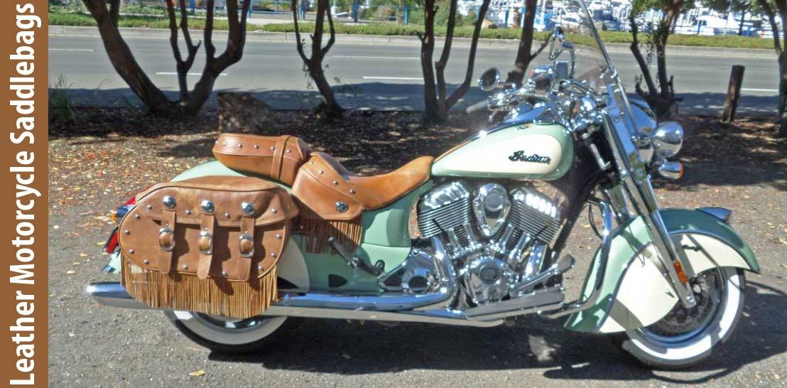 How To Make Leather Motorcycle Saddlebags