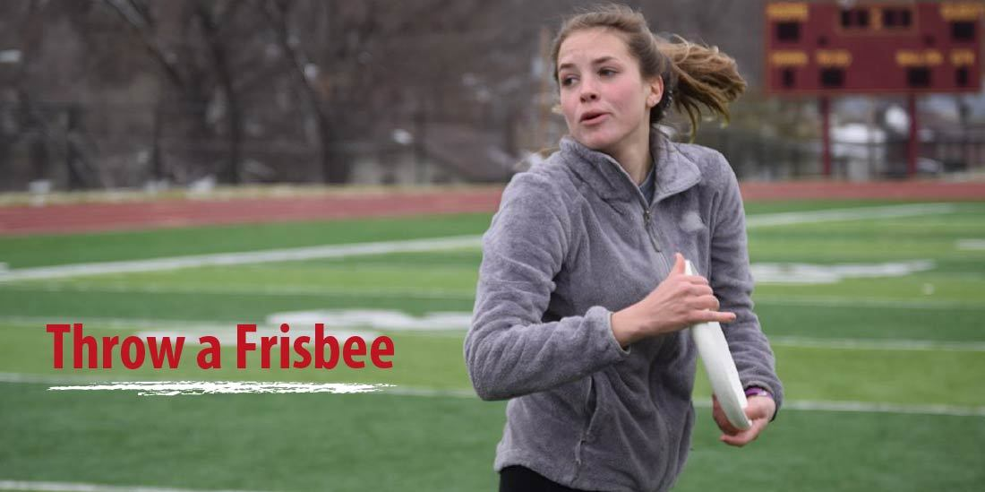 how to throw a frisbee