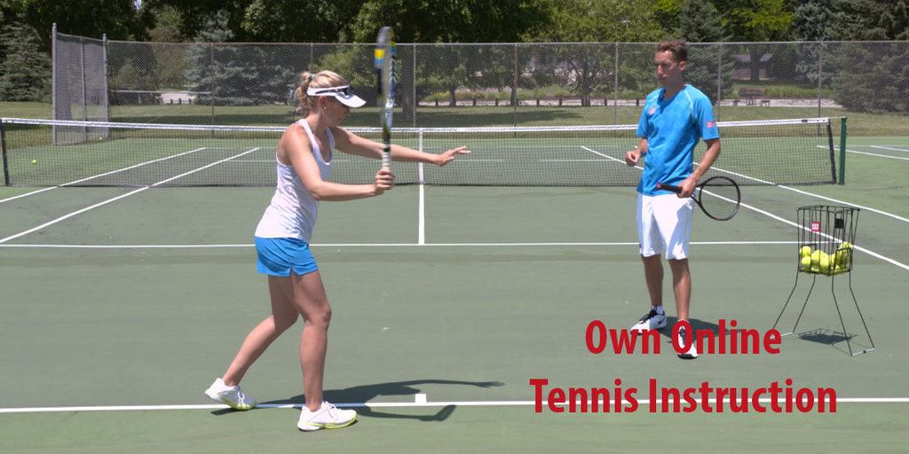 How to Own Online Tennis Instruction